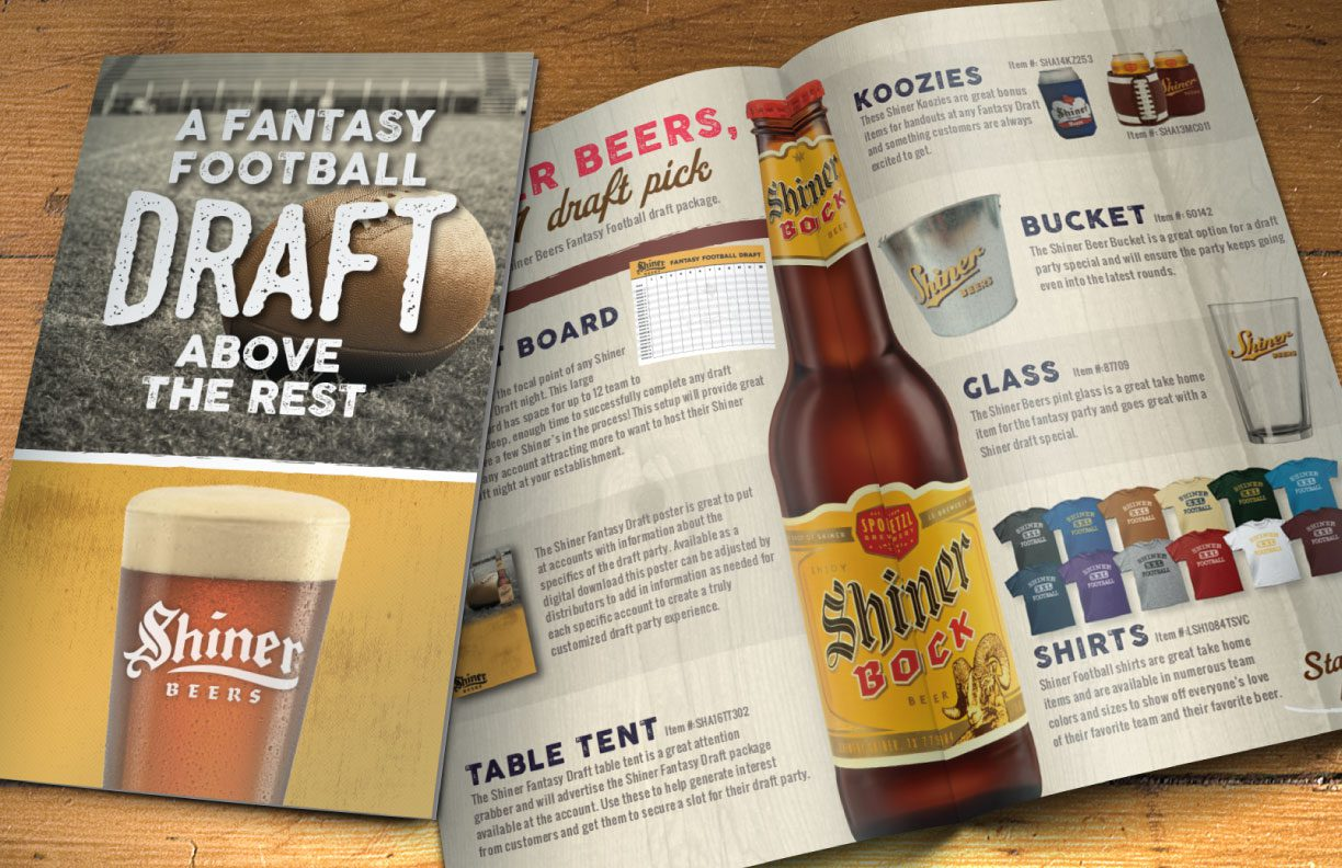 Shiner Beer draft package